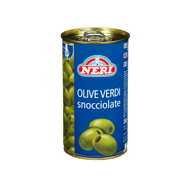 olive verdi snocciolate 350 gr