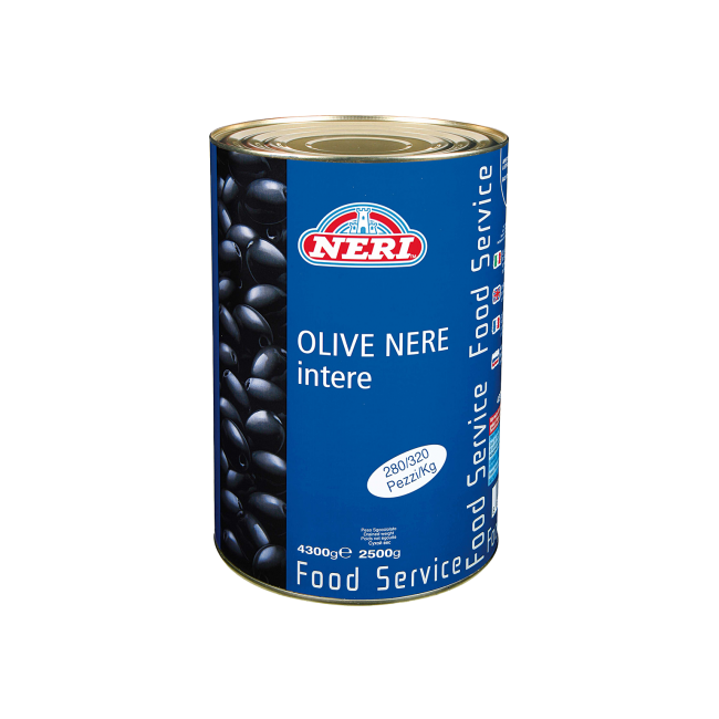 Olive intere e grandi 4300 gr