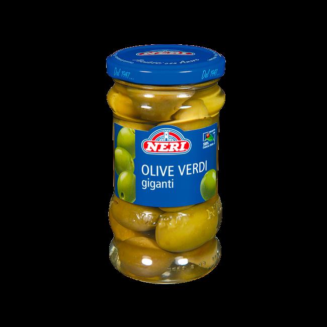 Olive verdi giganti piccolo